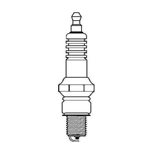 SPARK PLUG (NGK DPR8EA-9)