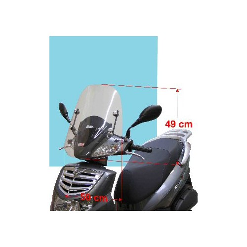 P-BRISE MOD SPORT HD125/200 (49CM)