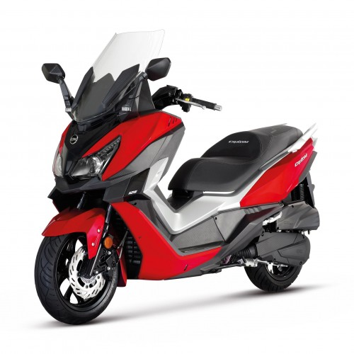 CRUISYM 125I ABS ROUGE -EURO4